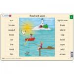 Larsen-RA01-EN-1-2 Rahmenpuzzle - Read and Look 01-02 (auf Englisch)