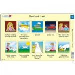 Larsen-RA08-EN-15-16 Rahmenpuzzle - Read and Look 15-16 (auf Englisch)
