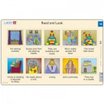 Larsen-RA10-EN-19-20 Rahmenpuzzle - Read and Look 19-20 (auf Englisch)