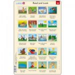 Larsen-RA13-EN-25-26 Rahmenpuzzle - Read and Look 25-26 (auf Englisch)