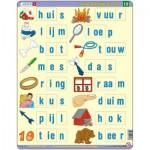 Larsen-SC13-NL Rahmenpuzzle - Lerne Niederländisch zu lesen 3