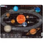 Larsen-SS1-DE Rahmenpuzzle - Das Sonnensystem