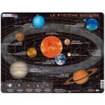 Larsen-SS1-FR Rahmenpuzzle - Das Sonnensystem (auf Französisch)