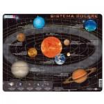 Larsen-SS1-IT Rahmenpuzzle - Sistema Solare (auf Italienisch)