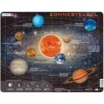 Larsen-SS1-NL Rahmenpuzzle - Zonnestelsel (Holländisch)