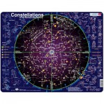Larsen-SS2-GB Rahmenpuzzle - Sternbilder der nördlichen Hemisphäre (auf Englisch)