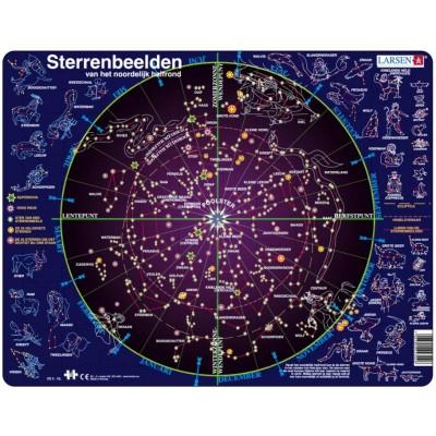 Larsen-SS2-NL Rahmenpuzzle - Sternbilder (Holländisch)