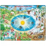 Larsen-SS3-GB Rahmenpuzzle - Die Jahreszeiten (auf Englisch)