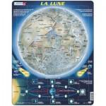 Larsen-SS5-FR Rahmenpuzzle - Der Mond (auf Französisch)