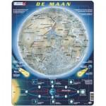 Larsen-SS5-NL Rahmenpuzzle - De Maan (Holländisch)