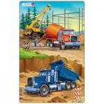 Larsen-U4-1 Rahmenpuzzle - Auf der Baustelle