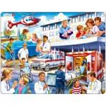 Larsen-US33 Rahmenpuzzle - Krankenhaus