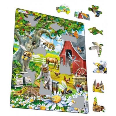 Larsen-US39 Rahmenpuzzle - Bienenzucht