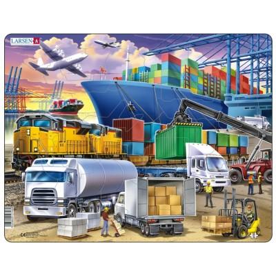 Larsen-US44 Rahmenpuzzle - Cargo Hub