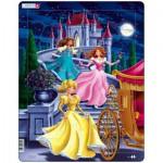 Larsen-US5 Rahmenpuzzle - Prinzessinnen