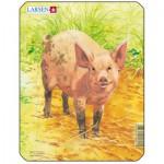 Larsen-V1-4 Rahmenpuzzle - Schwein