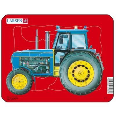 Larsen-Z1-4 Rahmenpuzzle - Traktor