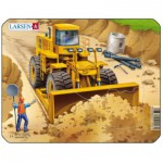 Larsen-Z3-3 Rahmenpuzzle - Bulldozer