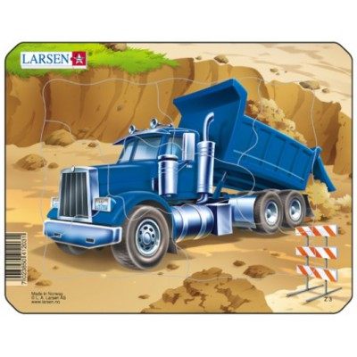 Larsen-Z3-4 Rahmenpuzzle - Kipper