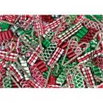 Puzzle  Master-Pieces-31334 Weinachts-Süßigkeiten