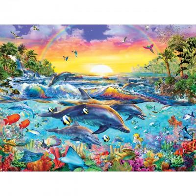 Puzzle  Master-Pieces-31609 XXL Teile - Sea of Eden