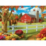 Puzzle  Master-Pieces-31655 XXL Teile - Rolling Pastures