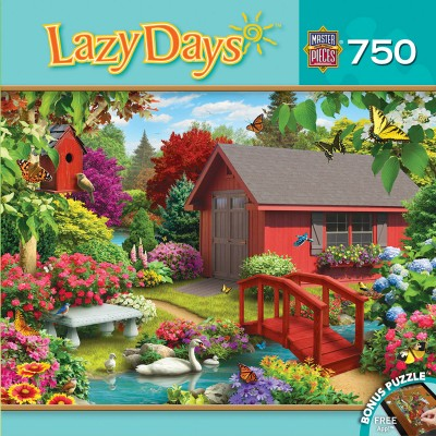 Puzzle Master-Pieces-31693 Alan Giana - Lazy Days - Over the Bridge