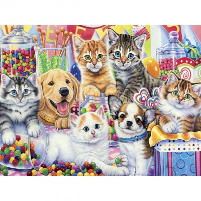 Puzzle  Master-Pieces-31725 XXL Teile - Sweet Things