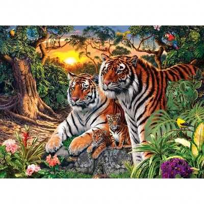 Puzzle Master-Pieces-31744 Glow in the Dark - Jungle Pride