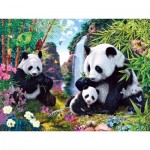 Puzzle  Master-Pieces-31745 Glow in the Dark - Shangri La