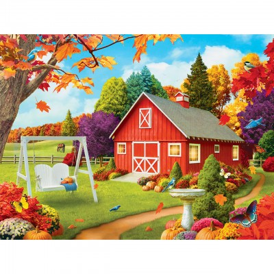 Puzzle  Master-Pieces-31807 XXL Teile - Harvest Breeze