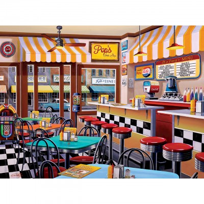 Puzzle  Master-Pieces-31829 Pop's Soda Fountain