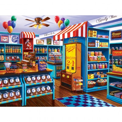 Puzzle Master-Pieces-31830 Stephanie's Candy Store