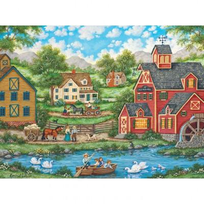Puzzle Master-Pieces-31837 Swan Pond