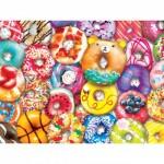 Puzzle  Master-Pieces-31845 XXL Teile - Donut Resist