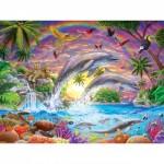 Puzzle  Master-Pieces-31850 XXL Teile - Fantasy Isle