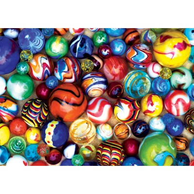 Puzzle Master-Pieces-31854 Mini Teile - World's Smallest - All My Marbles