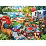 Puzzle  Master-Pieces-31900 XXL Teile - Little Rascals