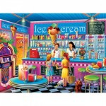 Puzzle  Master-Pieces-32011 Anna's Ice Cream Parlor