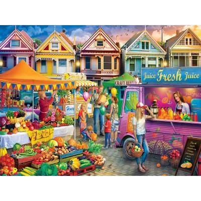 Puzzle Master-Pieces-32016 Weekend Market