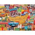 Puzzle  Master-Pieces-32024 Route 66