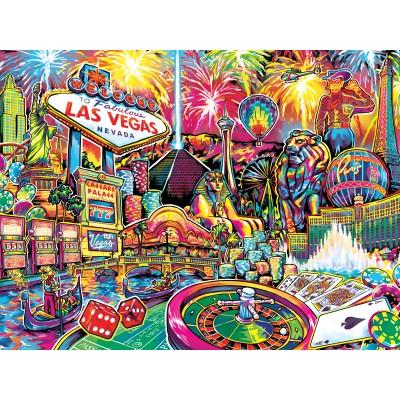 Puzzle  Master-Pieces-32025 Travel Collages - Las Vegas