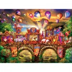 Puzzle  Master-Pieces-32102 XXL Teile - Carnivale Parade