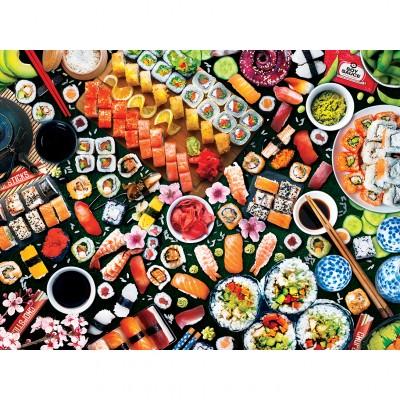 Puzzle  Master-Pieces-32109 XXL Teile - Sushi Surprise
