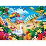 Puzzle  Master-Pieces-32120 Paradise Beach Escape