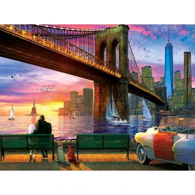 Puzzle  Master-Pieces-32122 New York Romance