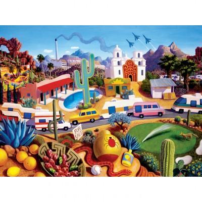 Puzzle  Master-Pieces-32126 Roadside of the Southwest - The Land of Az