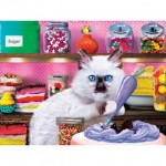 Puzzle  Master-Pieces-32150 XXL Teile - Kitten Cake Shop