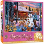 Puzzle  Master-Pieces-32153 XXL Teile - Winter Visitors