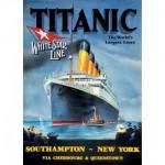 Puzzle  Master-Pieces-60348 Titanic White Star Line